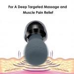 Handheld Massager Cordless Electric Percussion Massager Rechargeable Shiatsu Deep Tissue Massager