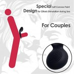 Powerful Vibrating Cock Ring Vibrator - Waterproof Rechargeable Penis Ring